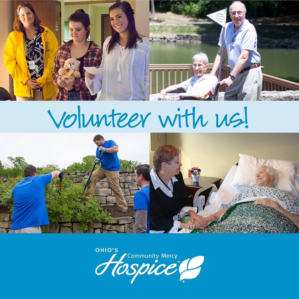 Ohio's Community Mercy Hospice Offers New Volunteer Training In May