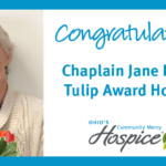 Ohio's Community Mercy Hospice Chaplain Receives Tulip Award