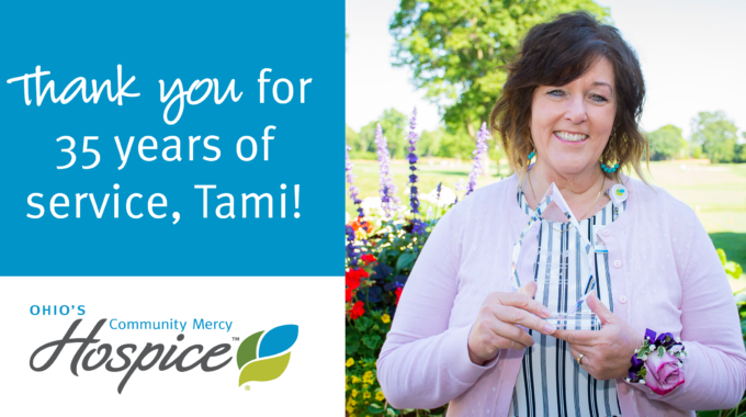 Tami Clark Celebrates 35 Years With Ohio's Community Mercy Hospice