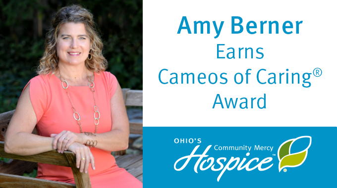 Amy Berner Earns Cameos Of Caring(r) Award | Ohio's Community Mercy Hospice
