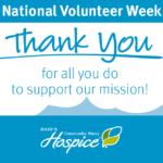 Ohio's Community Mercy Hospice Recognizes Volunteers During National Volunteer Week